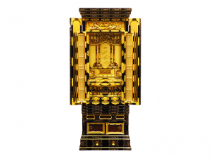 3尺仏間に収まる大谷派用のお値打ち名古屋仏壇です。