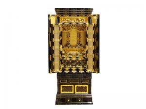3尺仏間用の細部にまで本金箔を施したお値打ちな名古屋仏壇です。