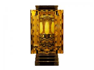 3尺仏間用の無垢材に拘った国産高山仏壇です。