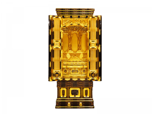 3尺仏間用の国産無垢材を使用して製作した伝統工芸師作の国産仏壇です。