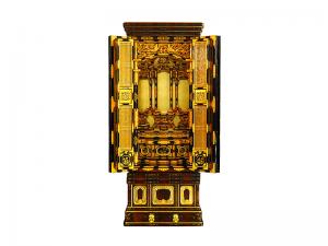 3尺仏間用の国産無垢材を使用して製作した国産仏壇です。