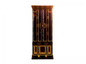 本漆塗り手造り金具の国産仏壇です。