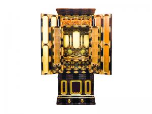 伝統工芸師作の手造り名古屋仏壇で国産仏壇です。