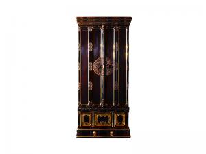 本漆塗りで手造り金具を施した国産仏壇です。