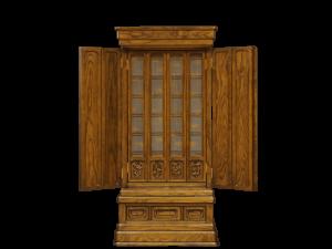シンプルな中に伝統の彫刻を施した本栗材の国産仏壇です。