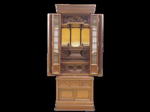 3尺仏間用の紫檀仏壇です。安心の国産仏壇として人気です。