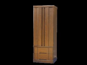 扉にはタモの無垢材を使用し、材質にもこだわった国産仏壇です。