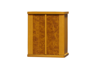 扉には、高級感のある玉杢模様風で落ち着きのあるデザインです。