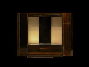 和室はもちろん洋室にも合うコンパクトな創作仏壇です。