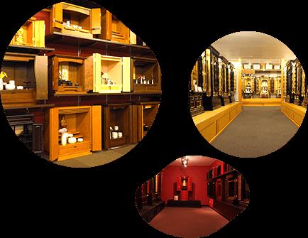 高山本店の店内画像