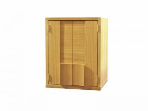扉を閉めるとまるでインテリア家具のようデザインです。