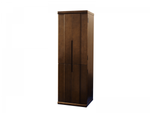 扉を閉めるとまるで家具のようデザインです。